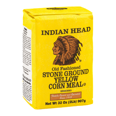 Indian Head Stone Ground Yellow Corn Meal