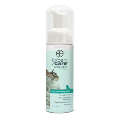 Bayer Expert Care Cat Coat Cleansing Foam