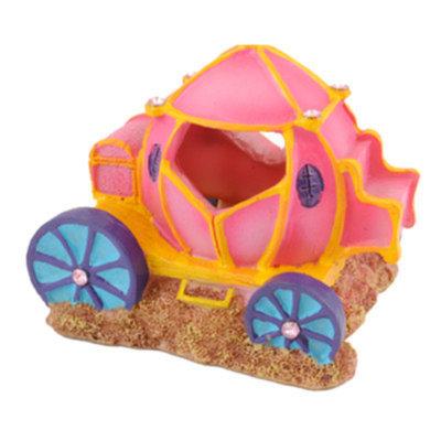 Top Fin Princess Carriage Aquarium Ornament