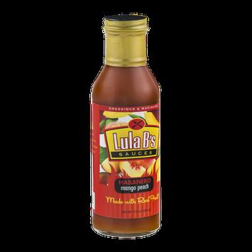 Lula B's Sauces Habanero Mango Peach