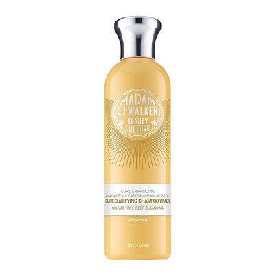 Madam C.J. Walker Beauty Culture Jamaican Black Castor & Murumuru Oils Pure Clarifying Shampoo With ACV