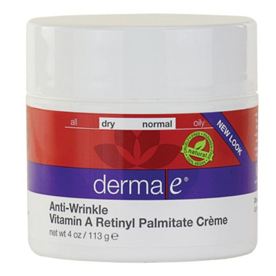 derma e Vitamin A Retinyl Palmitate Wrinkle Treatment Cream