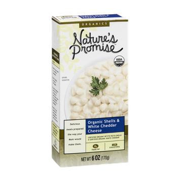Nature's Promise Organics Shells & White Cheddar Cheese Organic