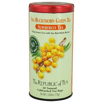 The Republic Of Tea Sea Buckthorn Green Tea, 50 Tea Bags