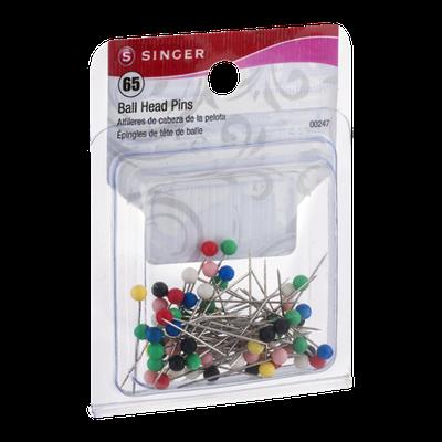 Singer Ball Head Pins