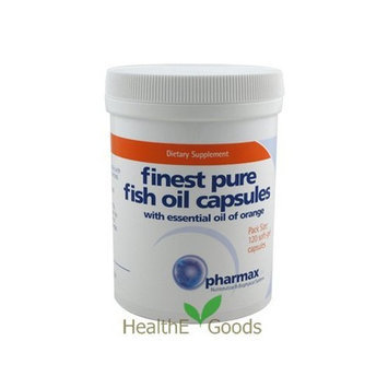 Pharmax - Finest Pure Fish Oil 120 caps Health and Beauty