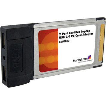 Startech.com StarTech.com 2 Port Card Bus Laptop PC Card Adapter
