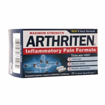 Arthriten Maximum Strength Inflammatory Pain Formula Coated SpeedCaps