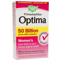 Nature's Way Primadophilus Optima Women's 50 Billion, Vegetarian Capsules, 30 ea
