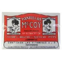 MCCOYS PRODUCTS INC Pastillas Mccoy Vitamin/Nutriceutical Tablets - 60 Each