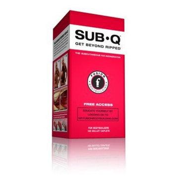 Fusion Bodybuilding SUB-Q 120 Bullet Caps Fat Burner contains Raspberry Ketones