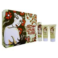 Ed Hardy LOVE&LUCK BY CHRISTIAN AUDIGIER SET BOX FOR WOMEN