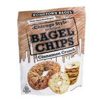 Hometown Bagel Chicago Style Bagel Chips Cinnamon Crunch