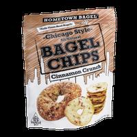Hometown Bagel Chicago Style Bagel Chips Cinnamon Crunch
