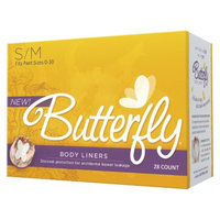 Butterfly Body Liners - Small/Medium (28 Count)