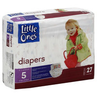 Kmart Corporation Little Ones Diapers, X Large, Size 5 (Over 27 lb), Jumbo Pack, 27 diapers - KMART CORPORATION