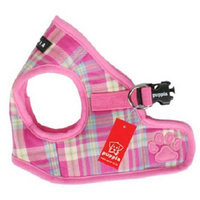 Digpets Puppia Spring Dog Harness Large Pink