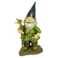 Echo Valley Outdoor Sculpture: Bobblehead Garden Gnome Statue