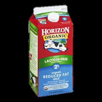 Horizon Organic 2% Reduced Fat Milk 100% Lactose-Free