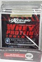 Extreme Edge Whey Protein Isolate - Vanilla Packets Bluebonnet 7 Packet