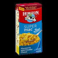 Horizon Super Mac Macaroni & Mild Cheddar Cheese