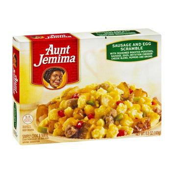 Aunt Jemima Scramble Sausage and Egg