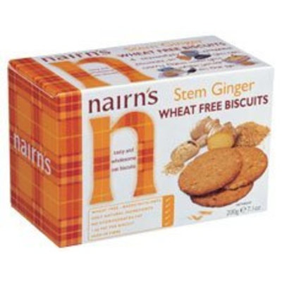 Nairns Nairn's Stem Ginger Oat Biscuits -- 7.1 oz Each