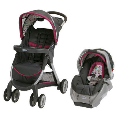 Graco FastAction Fold Classic Connect Travel System - Pippa