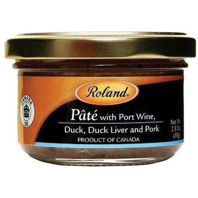 Roland Pate with Port Wine, 2.8-Ounce Jars (Pack of 4)