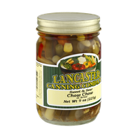 Lancaster Caning Company Sweet & Sour Chow Chow in Brine