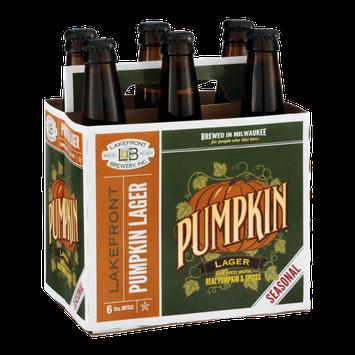 Lakefront Brewery Pumpkin Lager - 6 PK