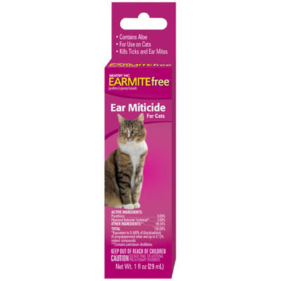 Sentry SENTRYA EARMITEfree Cat Ear Miticide