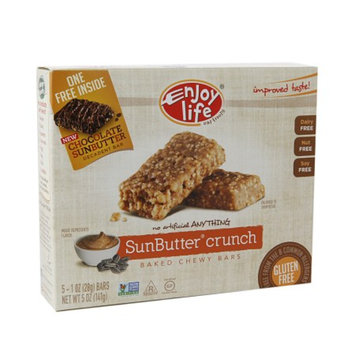 Enjoy Life Oven-Baked Chewy Bars Sunbutter Crunch