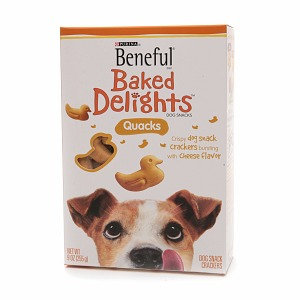 Beneful Dog Treat Baked Delights Quacks
