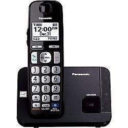 Panasonic Telephone (1Handset, Wall). Model: KX-TGE210B