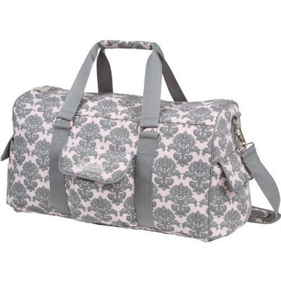 The Bumble Collection Jennifer Weekender Bag, Pink Filagree (Discontinued by Manufacturer)