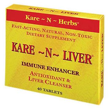 Kare-n-herbs Kare N Herbs Kare-N-Liver Immune Enhancer - 40 Tablets - Other Herbs