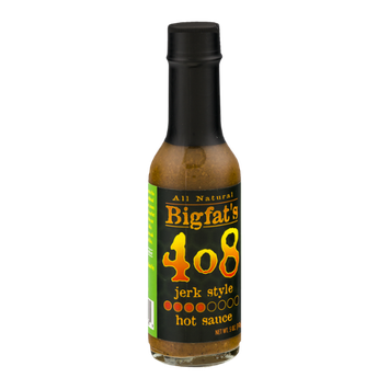 Bigfat's 408 Hot Sauce Jerk Style