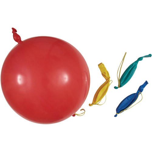 Unique Industries Way to Celebrate Punch Balloons, Multi-Color, 4 Count
