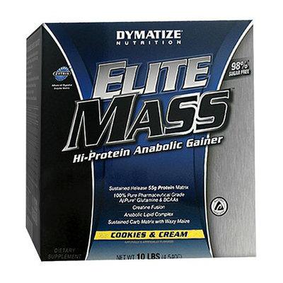Dymatize Nutrition Elite Mass Hi-Protein Anabolic Gainer Diet Powder