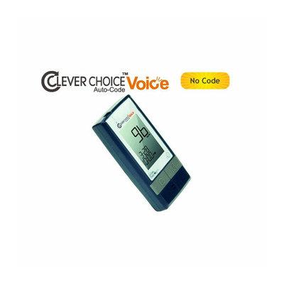 Simple Diagnostics Clever Choice Auto-Code Voice Blood Glucose Monitor