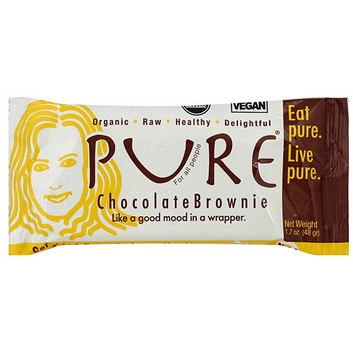 Pure Bar Pure Organic Chocolate Brownie Snack Bars