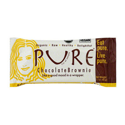 Pure Bar Pure Organic Chocolate Brownie Snack Bars