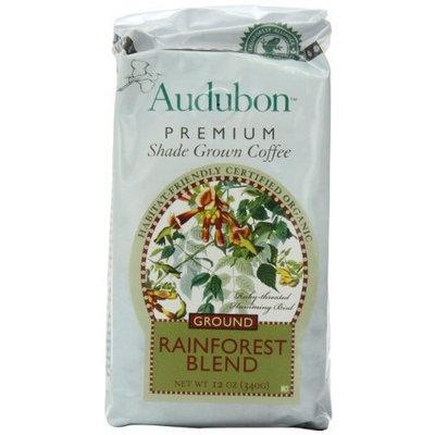 Audubon Premium Shade Grown Coffee, Rainforest Blend, 12 Ounce (Pack of 3)