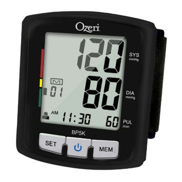 Ozeri BP5K Voice-Guided Blood Pressure Monitor with Smart Hypertension Indicator