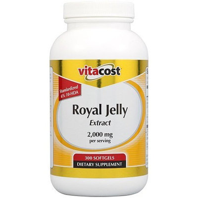Vitacost Brand Vitacost Royal Jelly Extract -- 2,000 mg per serving - 300 Softgels