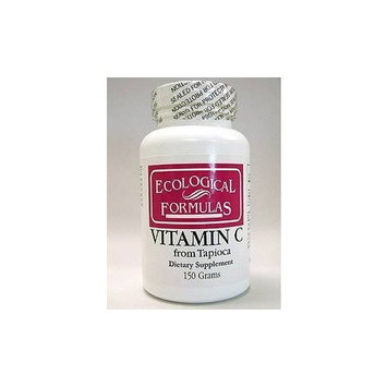 Ecological Formulas - Vitamin C from Tapioca 150 gms Health and Beauty