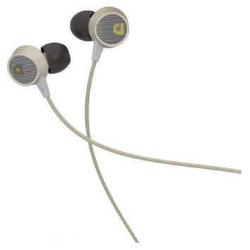Audiofly Af56 In-Ear Headphone W/Microphone Vintage White
