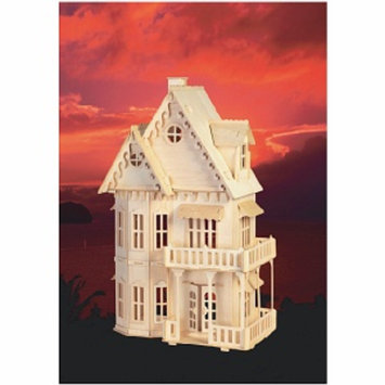 Puzzled Gothic House Wood Puzzle Ages 9+, 1 ea