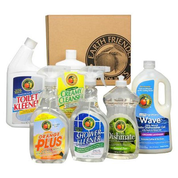 Earth Friendly Products Kitchen and Bathroom Cleaning Pack